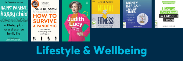 Lifestyle and Wellbeing ebook and eaudio list